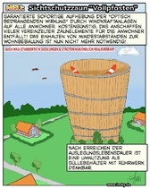 Windkraft, Münster, WKA, Windenergie, Abstände,Cartoon