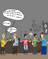 Party, Metall, Cartoon