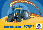 New Holland, NH, Traktor, incky
