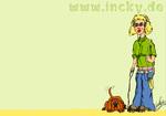 Gassi gehen,Hund,hintergrundbild