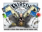 Bus, Unfall,Münster,Karikatur